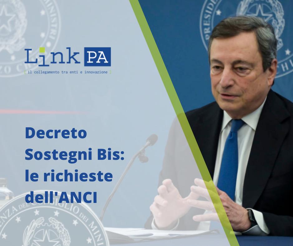 Decreto Sostegni Bis: l'ANCI richiede una serie di emendamenti
